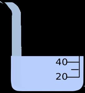 Beaker With Liquid Clip Art At Clker Com Vector Clip Art