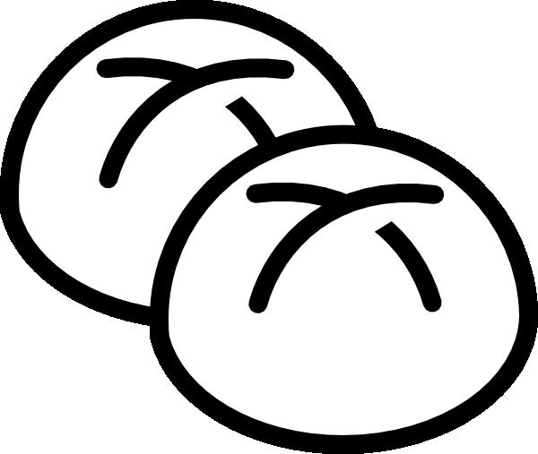 White Bread Rolls Clip Art at Clker.com - vector clip art ...