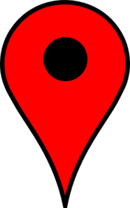 Map Pin Red Clip Art