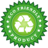 Ecology Friendly Product Sticker Clip Art