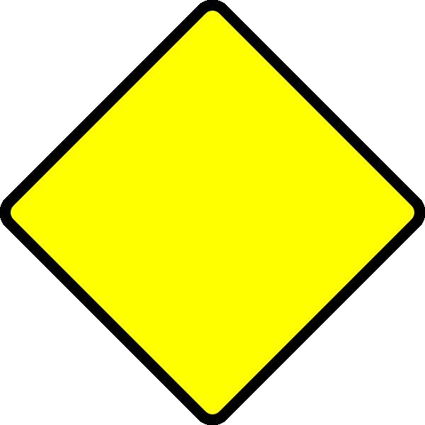 blank road sign clip art at clkercom vector clip art