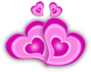 Loving Hearts Clip Art