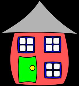 cartoon house clip art at clker com vector clip art brick house clipart brick house clipart