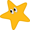 Star With Eyes Clip Art