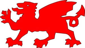 Welsh Dragon Red Clip Art