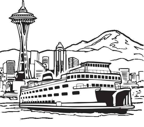Seattle Clip Art At Clker Com Vector Clip Art Online Royalty Free Amp Public Domain