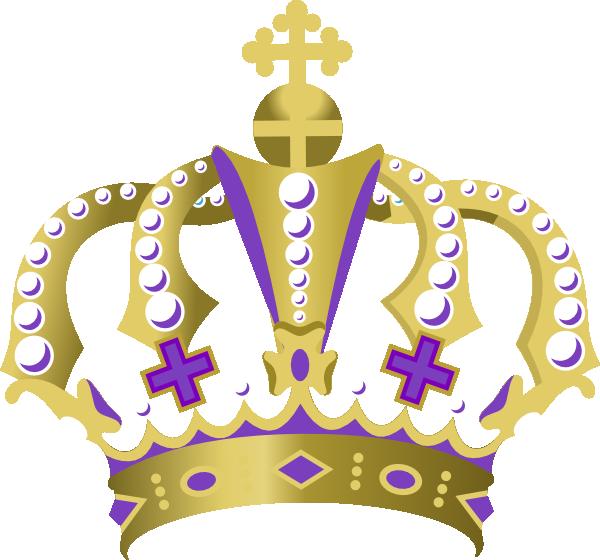 Purple King Crown Clip Art At Clker Com Vector Clip Art