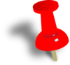 Push Pin Clip Art