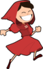 Little Red Ridinng Hood  Clip Art