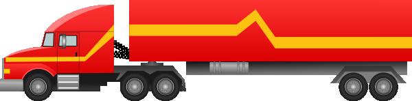 Semi Truck Clip Art at Clker.com - vector clip art online ...