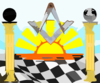 Sunrise On The Master Mason Clip Art