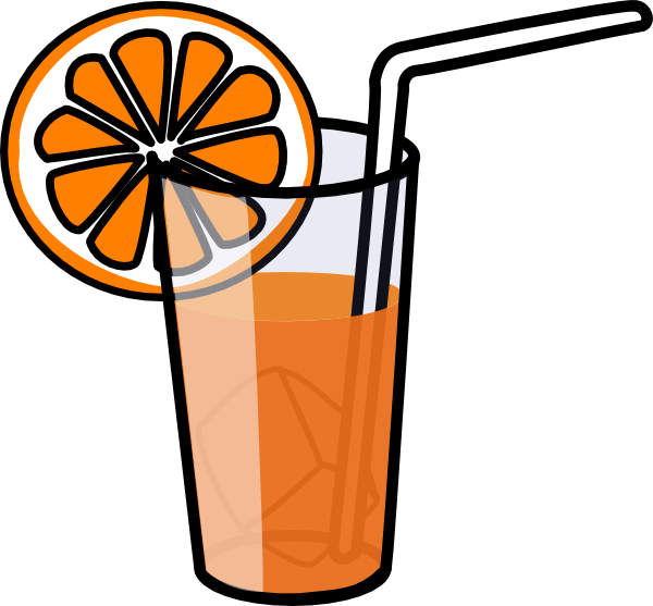 Orange Juice Clip Art at Clker.com - vector clip art ...