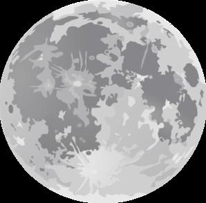 Light Full Moon Clip Art At Clker Com Vector Clip Art