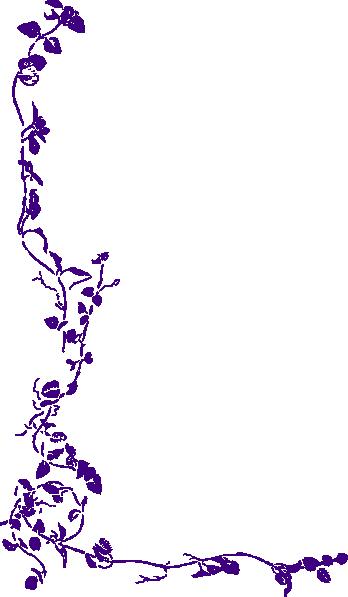 purple vine clip art at clker com