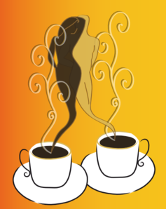 Coffee Cups Duo Clip Art