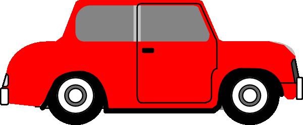 red car clip art at clker - vector clip art online, royalty