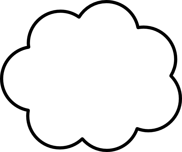 cloud clip art at clker com