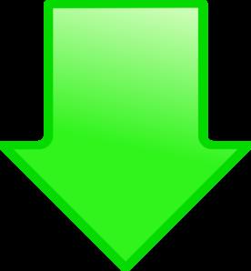 Green Arrow Down Clip Art at Clker.com - vector clip art ...