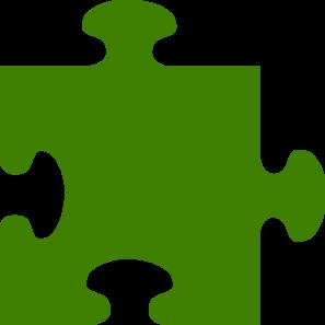 Green Puzzle Clip Art at Clker.com - vector clip art ...