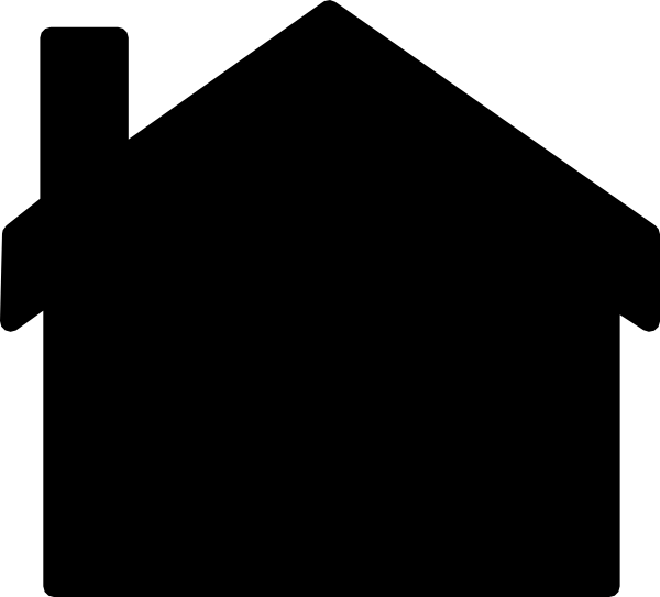 House Silhouette Clip Art At Clker Com Vector Clip Art