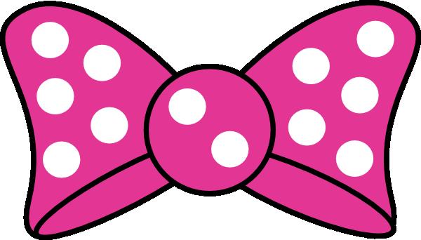 Minnie Bow Clip Art at Clker.com - vector clip art online, royalty free & public domain