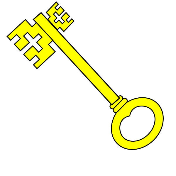 yellow key clip art at clker com vector clip art online skeleton key clipart free download skeleton key clip art with chain