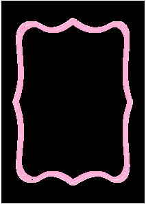 Fancy Pink Label Clip Art at Clker.com - vector clip art ...