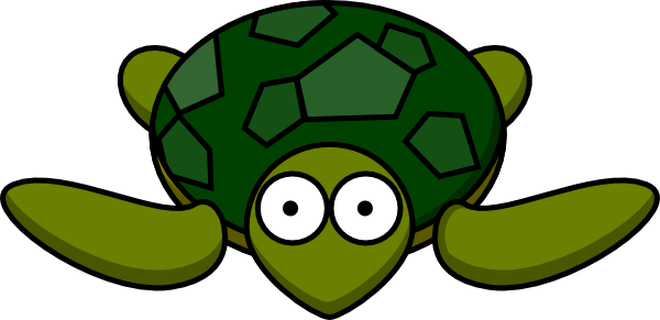 turtle with big eyes clip art at clker com