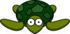 Turtle With Big Eyes Clip Art