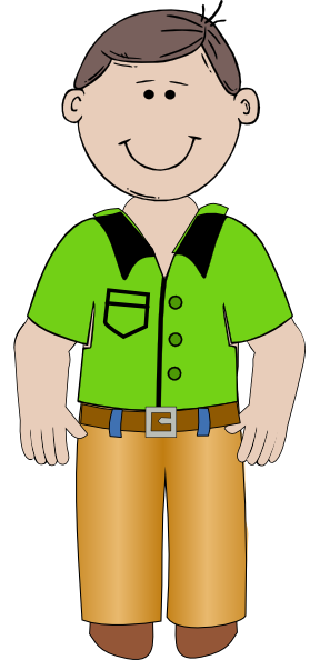 Cartoon Man Clip Art At Clker Com Vector Clip Art Online