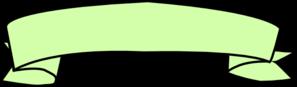 Green Ribbon Banner Clip Art at Clker.com - vector clip ...