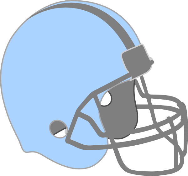 Blue Football Helmet Clip Art At Clker Com Vector Clip Art Online Royalty Free Public Domain