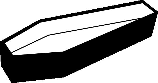 open coffin clip art at clker - vector clip art online