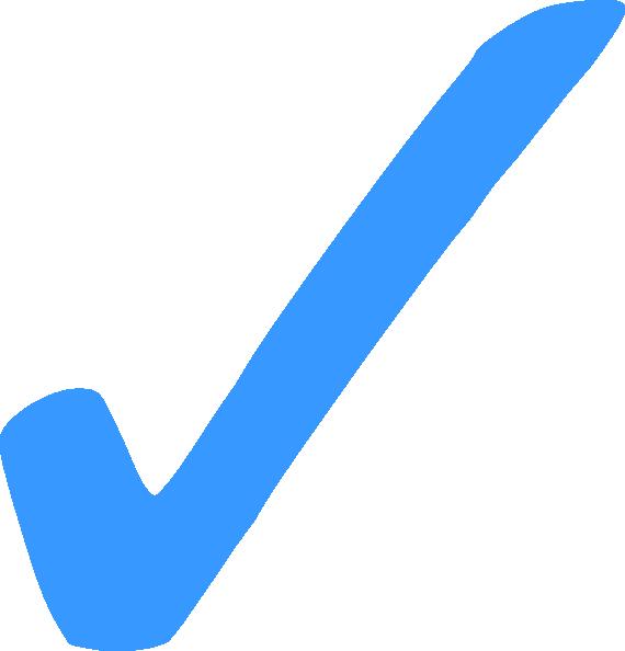 Afbeeldingsresultaat voor checkmark blue png