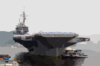 Uss Kitty Hawk (cv 63) Returns To Yokosuka, Japan From Her Deployment To The Arabian Gulf Clip Art