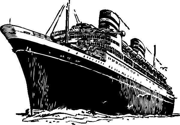 Ocean Liner Clip Art At Clker Com Vector Clip Art Online