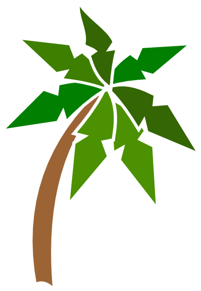 Coconut Tree Clip Art at Clker.com - vector clip art ...