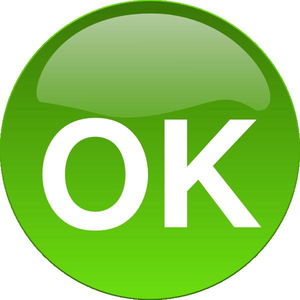Ok Button  clip art