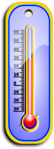 Hot Thermometer Clip Art