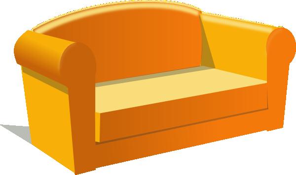 sofa clip art at vector clip art online royalty free public domain. Black Bedroom Furniture Sets. Home Design Ideas