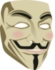 Guy Fawkes Mask Clip Art