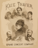 Kate Thayer Grand Concert Company Clip Art