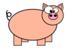 Cartoon Pig 2 Clip Art