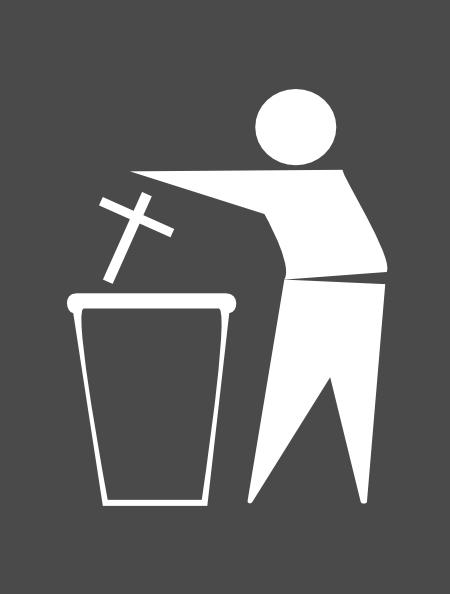 Trash Religion Clip Art At Clker Com Vector Clip Art