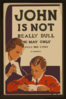 John Is Not Really Dull - He May Only Need His Eyes Examined Clip Art