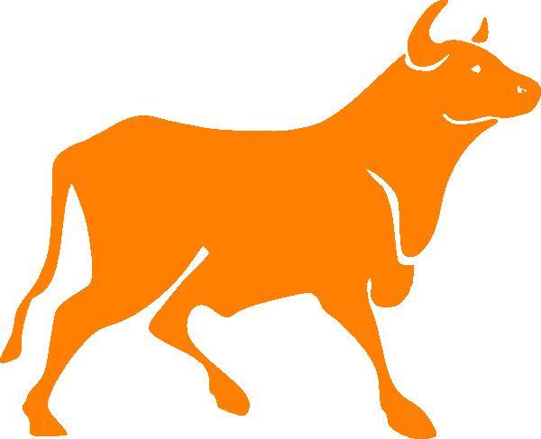 Bull Clip Art at Clker.com - vector clip art online ...