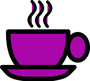 Purple Tea Cup Clip Art At Clker Com Vector Clip Art