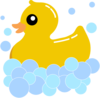 Rub Duck Foam Clip Art