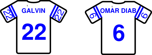 Jersey Clip Art at Clker.com - vector clip art online ...