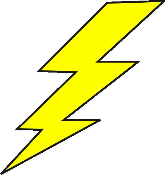 Lightning Bolt Clip Art at Clker.com - vector clip art online, royalty ...